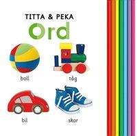 bokomslag Titta & peka : ord