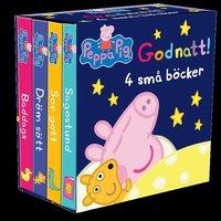 bokomslag Greta Gris: Godnatt! 4 små böcker