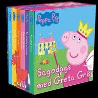 bokomslag Sagodags med Greta Gris : 6 små böcker