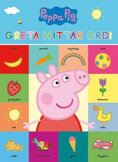 bokomslag Greta Gris: Greta hittar ord!