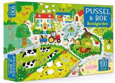 bokomslag Pussel & bok: Bondgården