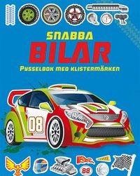 bokomslag Snabba bilar: pysselbok med klistermärken