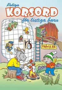 bokomslag Roliga korsord för listiga barn