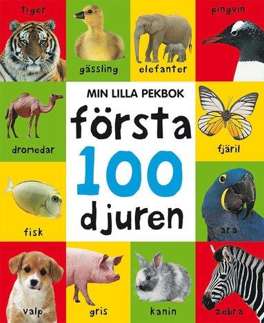 bokomslag Min lilla pekbok : första 100 djuren