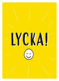 bokomslag Lycka!