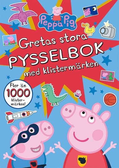 bokomslag Gretas stora pysselbok med klistermärken