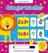 bokomslag Räkna matte! : gångertabeller