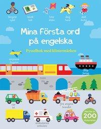 bokomslag Mina första ord på engelska: pysselbok med klistermärken