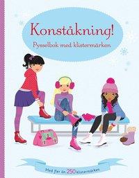 bokomslag Konståkning! Pysselbok med klistermärken