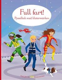 bokomslag Full fart! Pysselbok med klistermärken