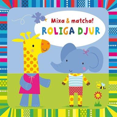 bokomslag Mixa & matcha: roliga djur
