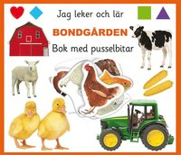 bokomslag Bondgården - bok med pusselbitar