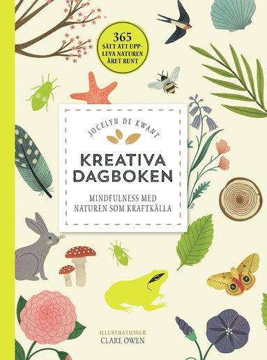 bokomslag Kreativa dagboken: mindfulness med naturen som kraftkälla