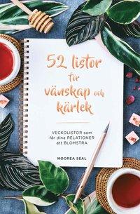 bokomslag 52 listor för vänskap och kärlek: veckolistor