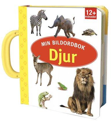 bokomslag Min bildordbok - djur