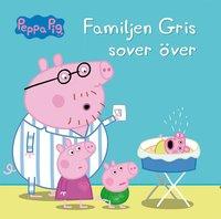 bokomslag Familjen Gris sover över