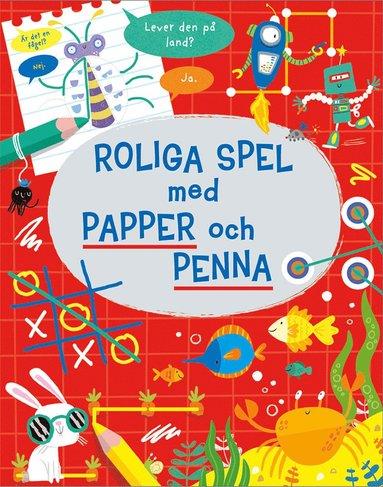 bokomslag Roliga spel med papper och penna