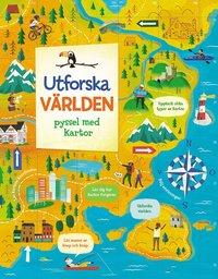 bokomslag Utforska världen : pyssel med kartor