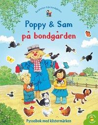 bokomslag Poppy & Sam på bondgården