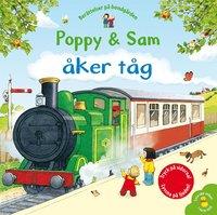 bokomslag Poppy & Sam åker tåg