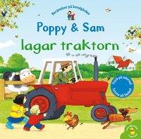 bokomslag Poppy & Sam lagar traktorn