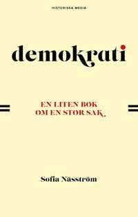 bokomslag Demokrati. En liten bok om en stor sak