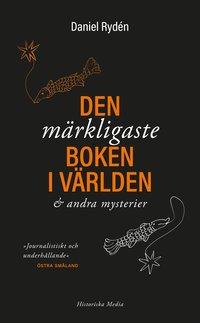 bokomslag Den märkligaste boken i världen & andra mysterier