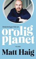 bokomslag Anteckningar från en orolig planet