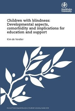 bokomslag Children with blindness: Developmental aspects, comorbidity and implications for education and support
