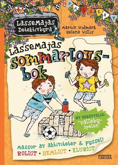 bokomslag LasseMajas sommarlovsbok. Vallebyspelen
