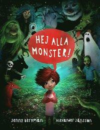 bokomslag Hej alla monster!