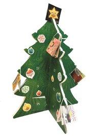 bokomslag Mini Pixi adventskalender - Gran med klistermärken