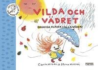 bokomslag Vilda och vädret : brokiga kläder i alla väder