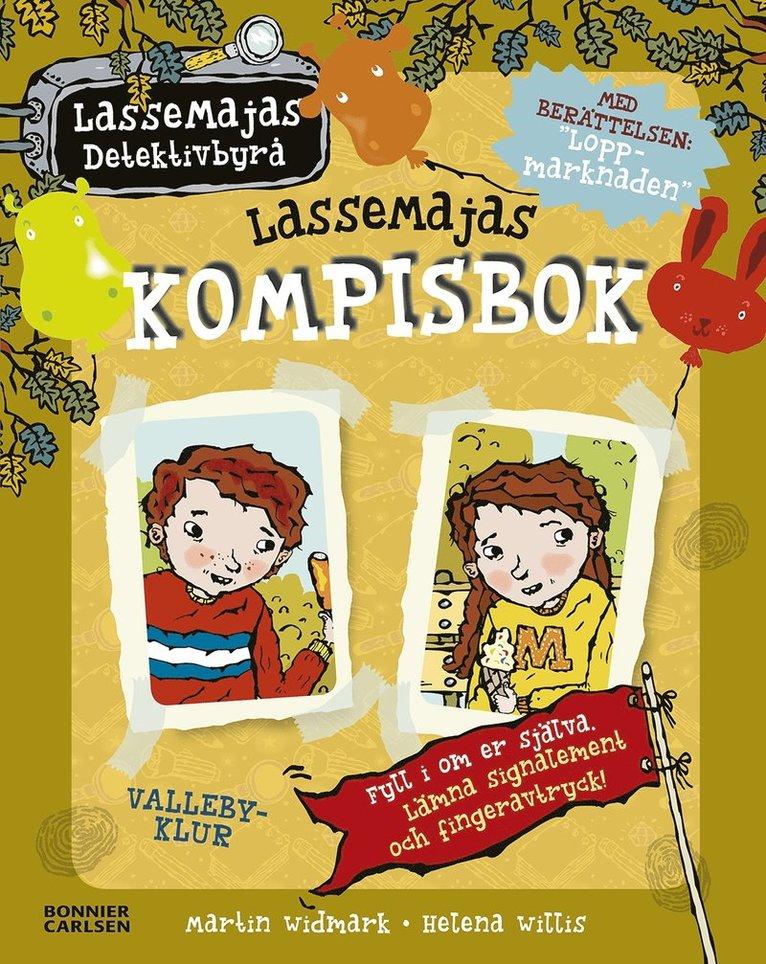 LasseMajas kompisbok 1
