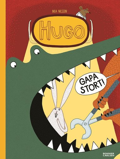 bokomslag Hugo. Gapa stort!