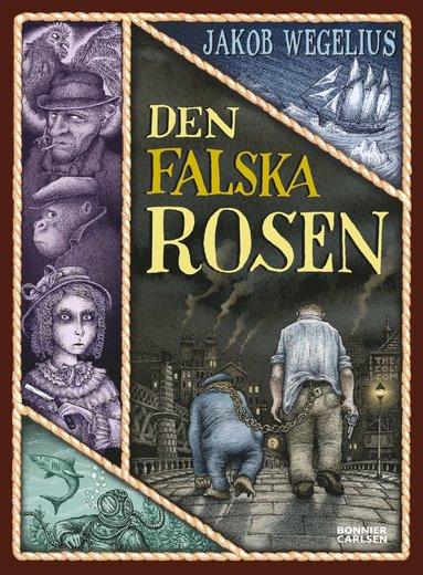 bokomslag Den falska rosen
