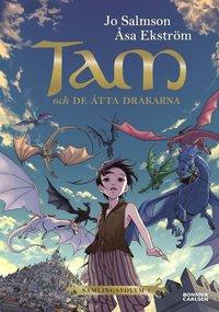 bokomslag Tam och de åtta drakarna (Drakriddare, bok 1-3)