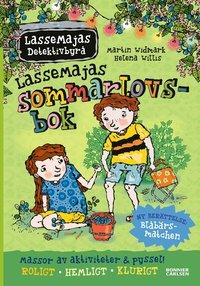 bokomslag LasseMajas sommarlovsbok. Blåbärsmatchen