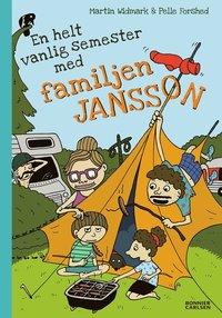 bokomslag En helt vanlig semester med familjen Jansson