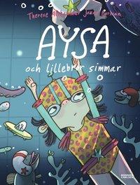 bokomslag Aysa och lillebror simmar