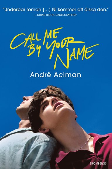 bokomslag Call me by your name
