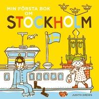 bokomslag Min första bok om Stockholm