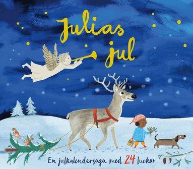 bokomslag Julias jul : en julkalendersaga med 24 luckor