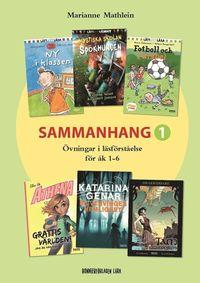 bokomslag Sammanhang 1 - Övningar i läsförståelse