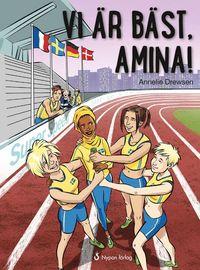bokomslag Vi är bäst, Amina!