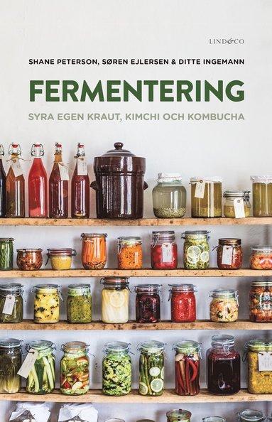 bokomslag Fermentering : syra egen kraut, kimchi och kombucha