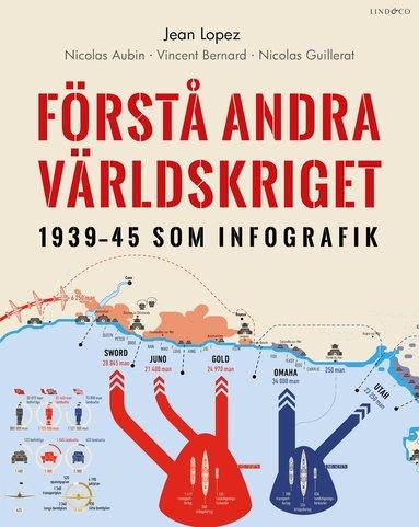 bokomslag Förstå andra världskriget : 1939-45 som infografik
