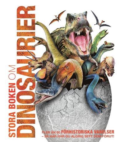 bokomslag Stora boken om dinosaurier