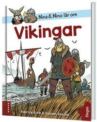 bokomslag Nina och Nino lär om Vikingar
