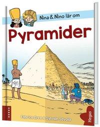 bokomslag Nina och Nino lär om pyramider